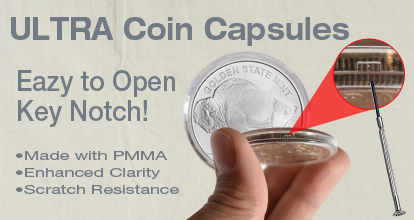 ULTRA Coin Capsule - 39mm - Sold Individually