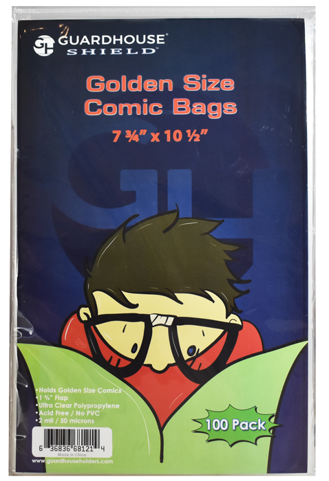 Guardhouse Shield Bag for Golden Comic Books