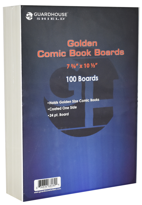 Guardhouse Golden Comic Book Boards