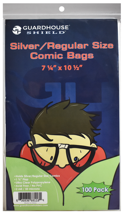 Shield Bag for Silver/Regular Comic Books