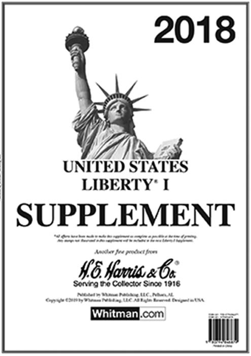 2018 Liberty I Stamp Supplement
