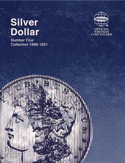 Whitman Morgan Silver Dollar Coin Folder 1898 - 1921