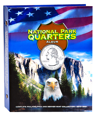 Whitman National Park Quarters Album 2010 - 2021