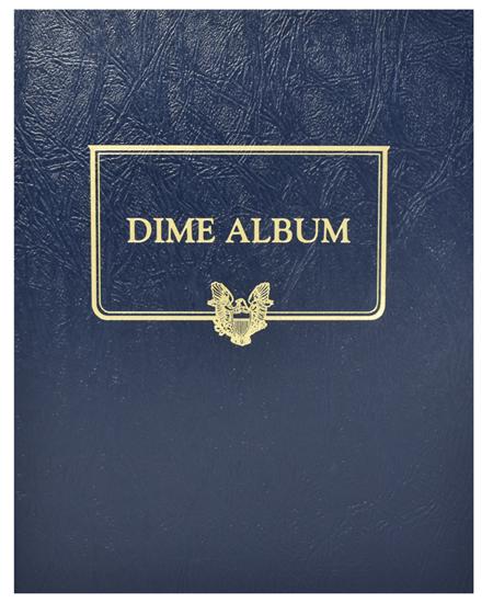 Whitman Dime Album - Blank