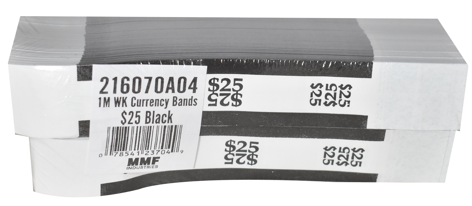 Currency Straps $25 - Black