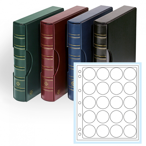 Lighthouse Grande Classic 3 Ring Album with 6 L Capsule Pages