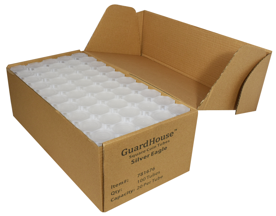 Guardhouse American Silver Eagle Coin Tube - 100 Pack