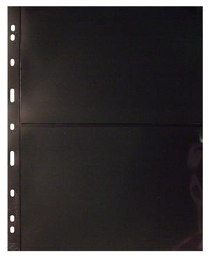 2 Pocket Grande Pages for Extra Large Notes, Black
