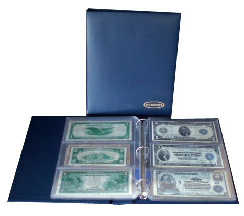 Deluxe Currency Album with 20 Pages Supersafe
