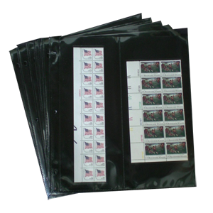 Supersafe two pocket MPH pages for U.S. Covers, Vertical (12 Pack)