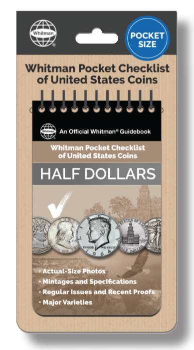 Whitman Pocket Checklist of United States Coins: Half Dollars