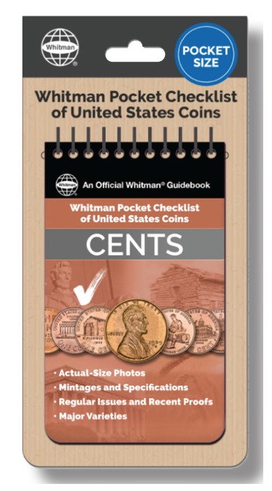 Whitman Pocket Checklist of United States Coins: Cents
