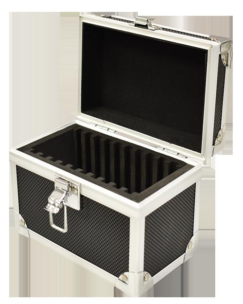 Guardhouse Black Aluminum Box for 10 Slabs