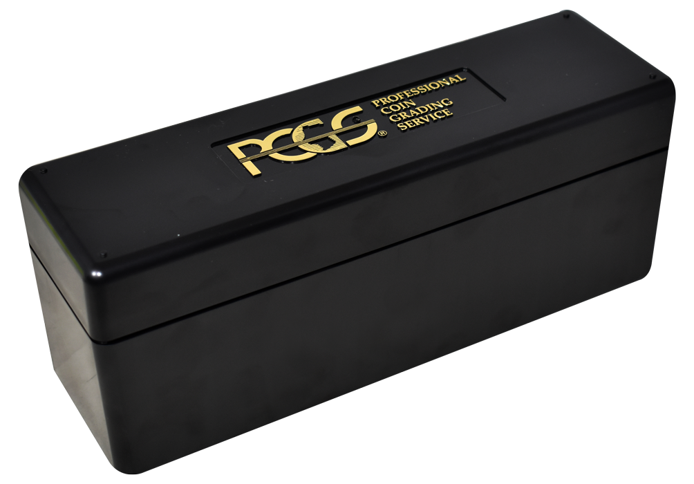 Official PCGS 20 Slab Box - Black