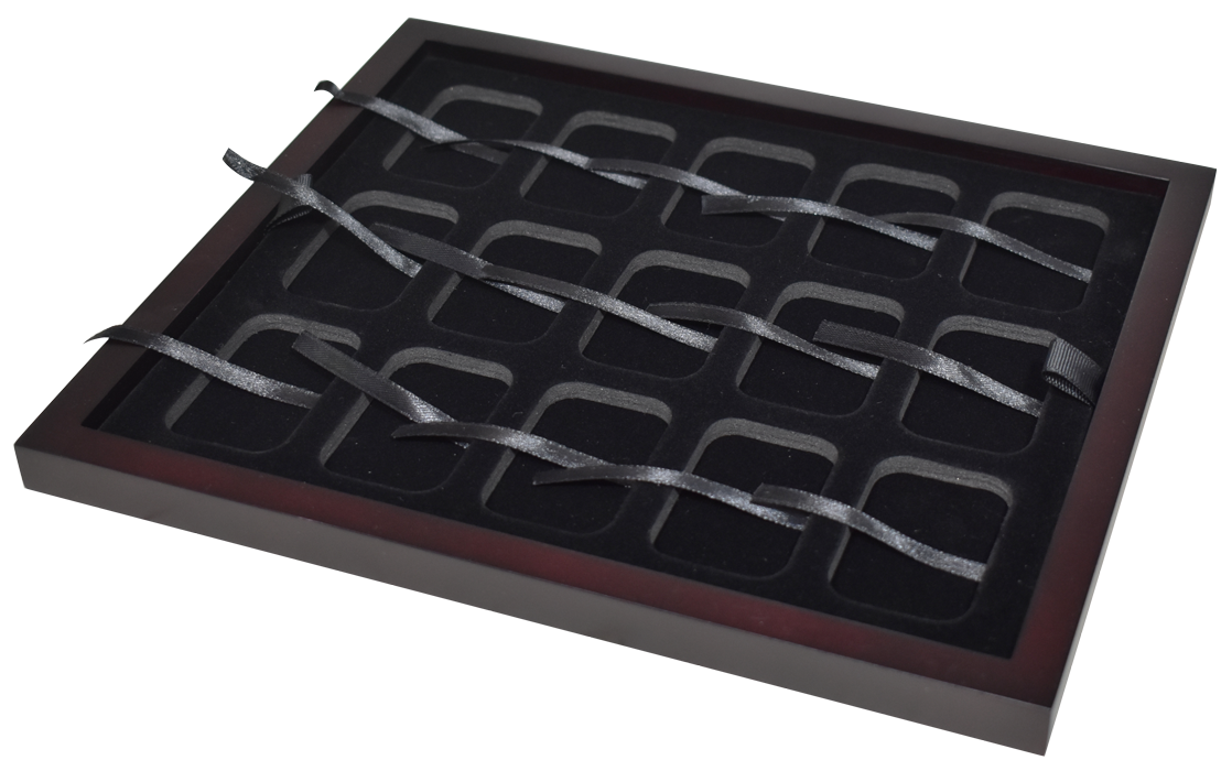 Guardhouse 1 oz Silver Bar Capsule Tray - Holds 15