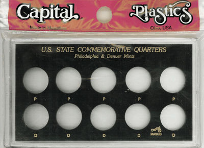 U.S. State Commemorative Quarters P & D / No Years Specified