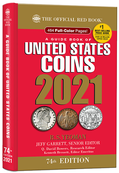 2021 Red Book Price Guide of United States Coins, Hidden Spiral - 783621