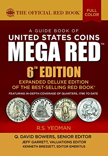 2021 Red Book MEGA, A Guide book of United States Coins Deluxe 6th Edition - 783622
