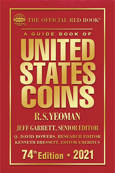 2021 Red Book Price Guide of United States Coins, Hardcover - 783623