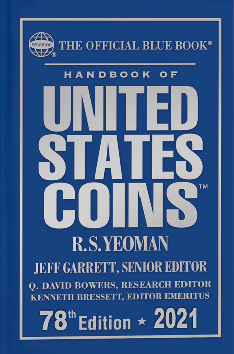 2021 Blue Book - Handbook of U.S. Coins