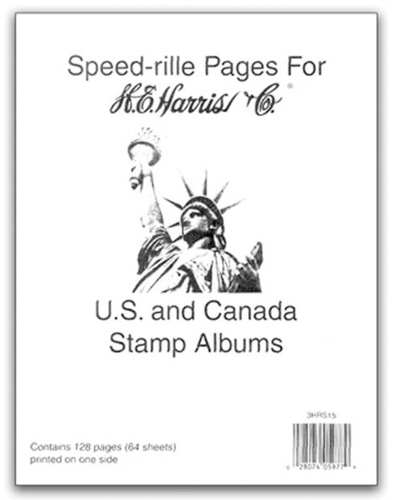 Speed-rille Pages, US/UN/Canada