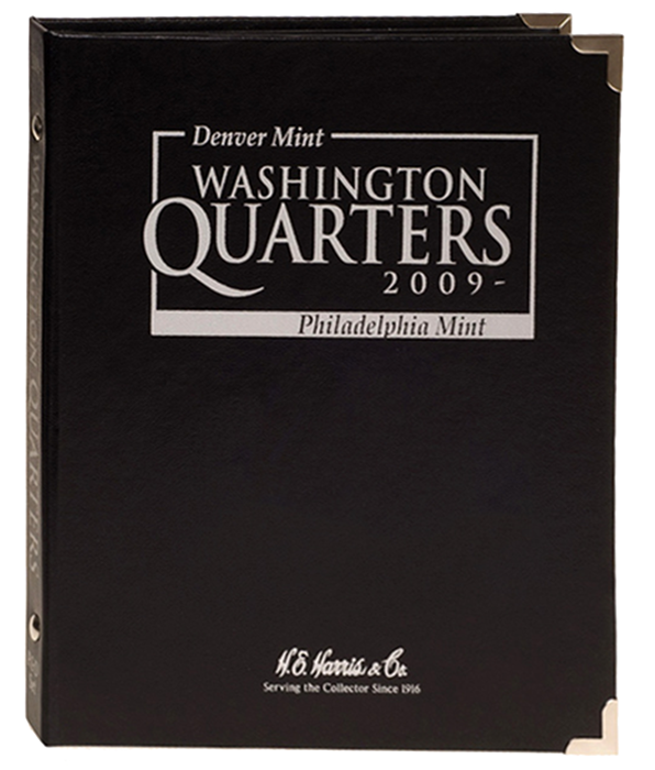 H.E. Harris Washington Quarters Album 2009 - P & D
