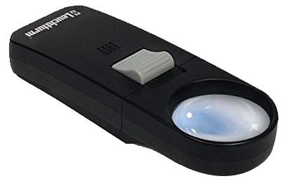 Hand Held 7x Magnifier with LED