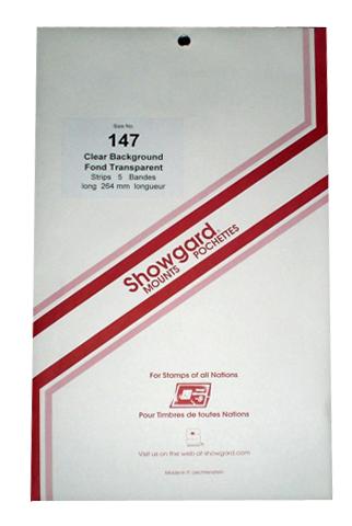 147 Showgard Strips Accomodation Range 264mm (Clear)