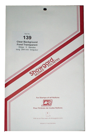 139 Showgard Strips Accomodation Range 264mm (Clear)
