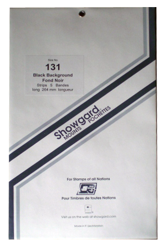 131 Showgard Strips Accomodation Range 264mm (Black)