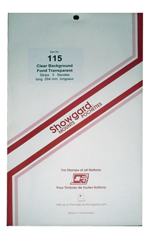 115 Showgard Strips Accomodation Range 264mm (Clear)