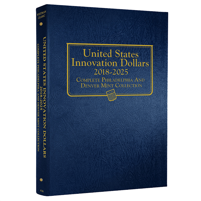 Whitman Album for United States Innovation Dollars P & D 2018 - 2025