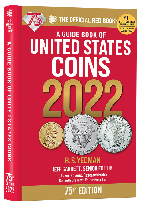 2022 Red Book Price Guide of United States Coins, Hidden Spiral