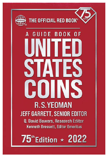 2022 Red Book Price Guide of United States Coins, Hardcover