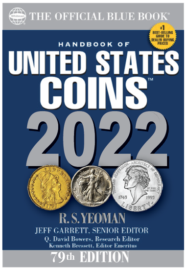 Whitman Official 2022 Blue Book for United States Coins