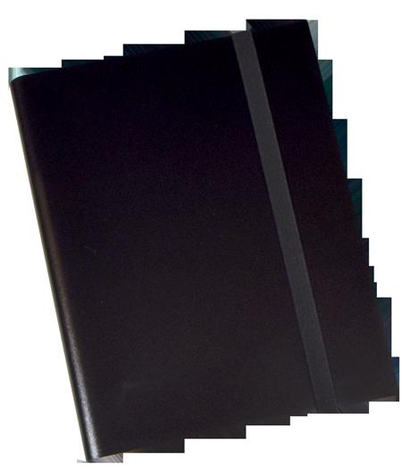 9 PKT Trading Card Folio - Black