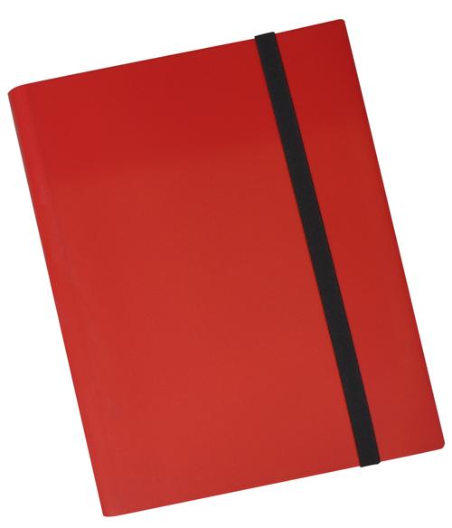 9 PKT Trading Card Folio - Red