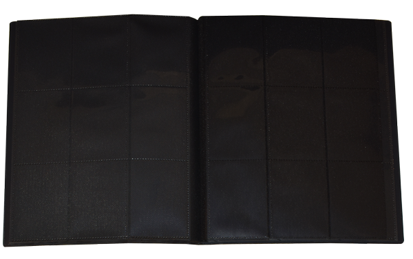 9 PKT Trading Card Folio - Red - 783740