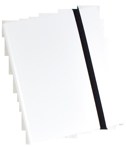9 PKT Trading Card Folio - White