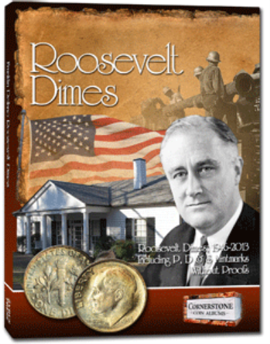 Cornerstone Roosevelt Dimes Coin Album 1946-2013