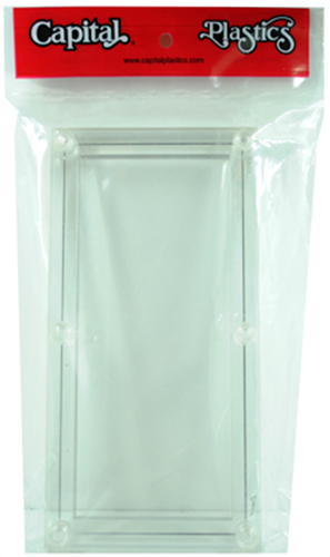 Capital Plastic Currency Holder 3-pack