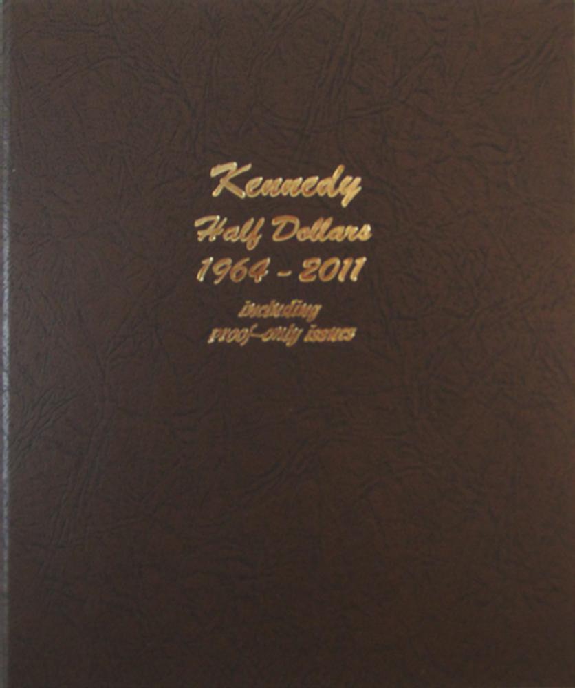 Kennedy Half Dollars Proofs Dansco Coin Album 8166