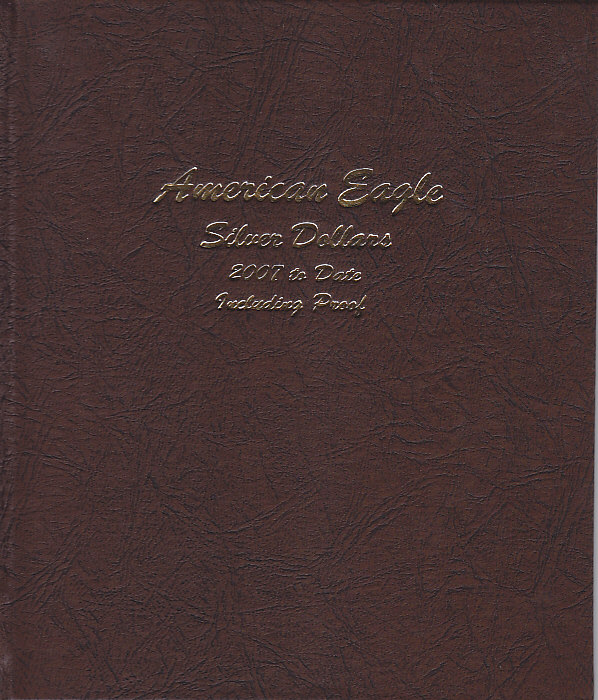 Dansco American Eagle Silver Dollars w/ Proof 8182