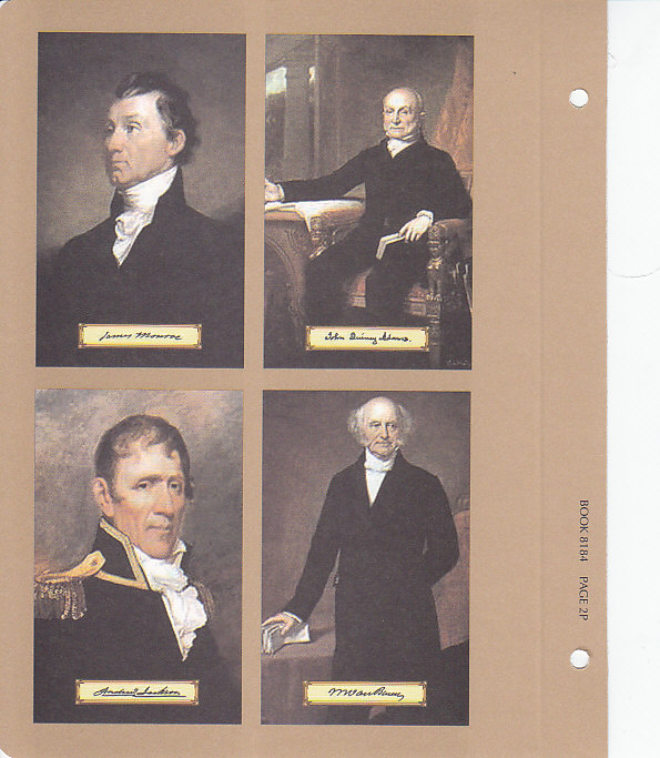 Presidential Dollars with Proofs 2007-2011 Vol. 1 - Dansco Coin Album 8184 - 22632