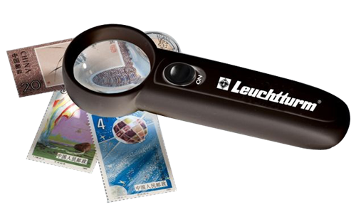 Leuchtturm 6X LED Pocket Magnifier