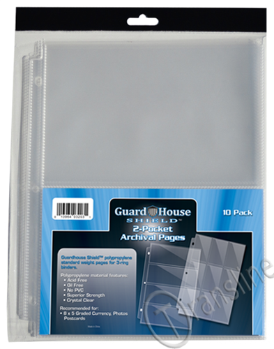 Guardhouse 2 PKT Archival Notebook Pages - 10 PK