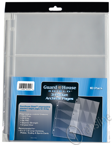 Guardhouse 3 PKT Notebook Pages - 10 PK