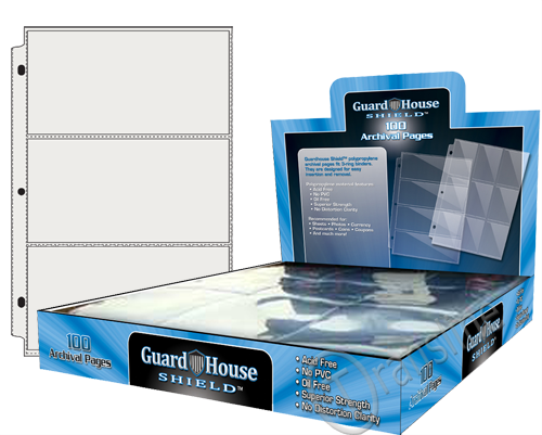 Guardhouse 3 PKT Archival Notebook Pages - 100 PK
