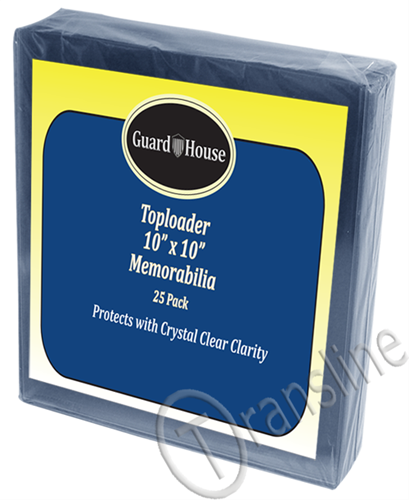 Guardhouse 10x10 Memorabilia Toploader