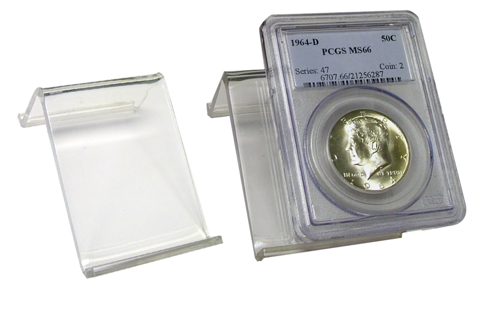 Acrylic Certified Coin Easel certified coin display, slab easel, coin easel, easel display stand for coins, pcgs easel, ngc easel
